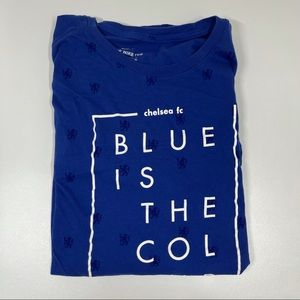 The Nike Tee Blue Chelsea Football Club T-Shirt XL